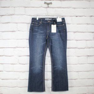 NEW YORK &. COMPANY Curvy Low Rise Bootcut Size 14
